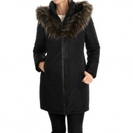 Noize . - 4801823741 - BLK - Donna Down Like Quilted Jacket